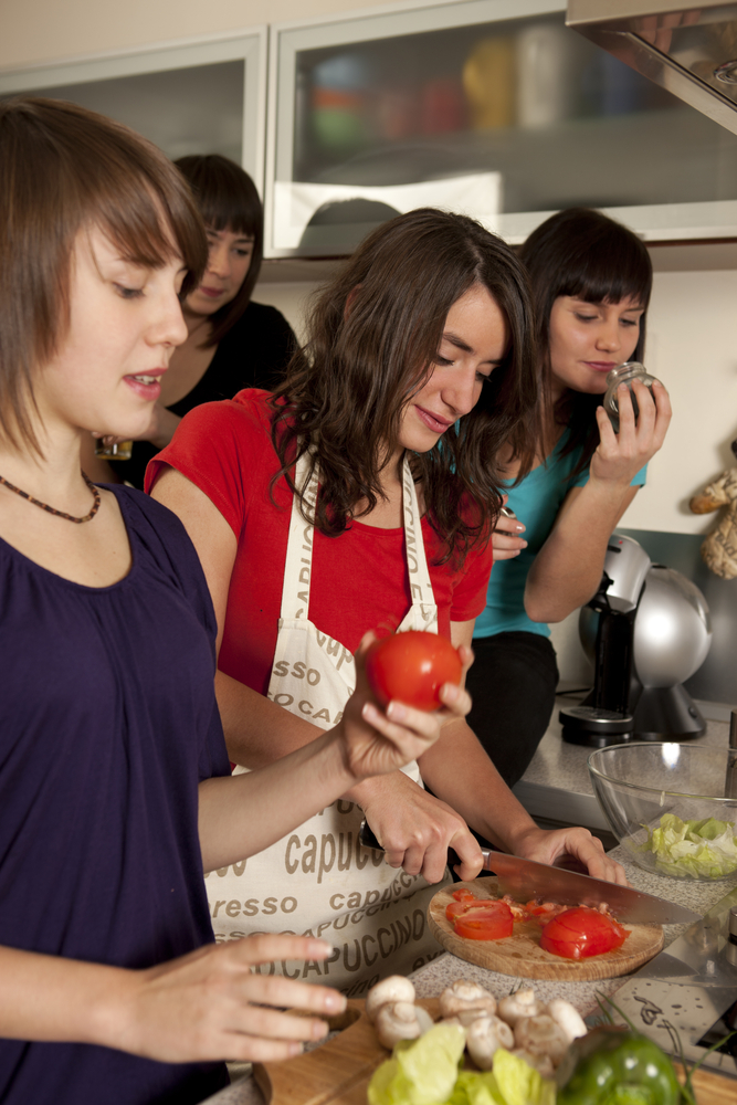 Cooking - Courtesy of Shutterstock