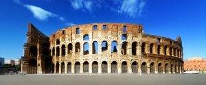 The Colosseum in Rome, Europe. (Shutterstock)