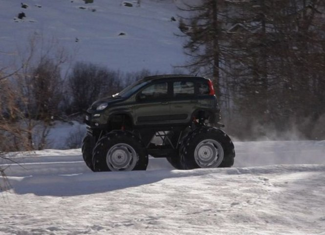 Super Snow Vehicles