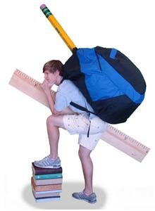 How To Avoid A Heavy Backpack: Ideas & Instructions While At College