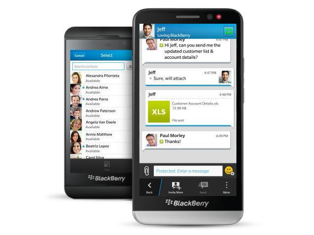 BlackBerry Adds BBM Encryption To Shore Up Enterprise Support