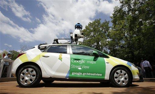 Google Starts Street View In Greece
