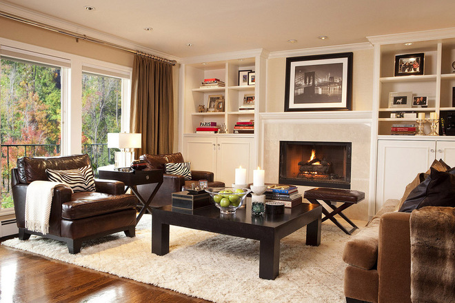 Fixed Furnishings To Complement The Decor