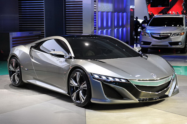 2016 Acura NSX Review