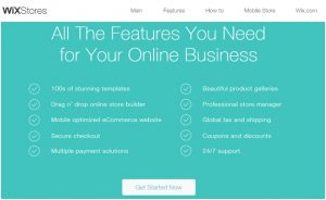 WixStores – Robust eCommerce Website Builder Provides Tools For Creating Your Online Store