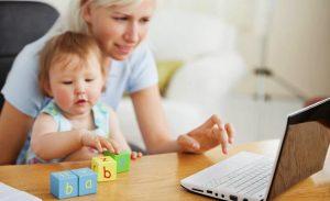 Online shopping for New Moms