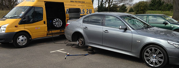 What Do Mobile Tyre Fitters Do?