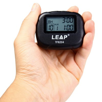 LEAP TF6204 Interval Timer for Yoga Hiit Cardio Tabata with LCD