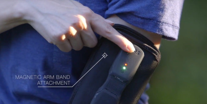 OPS EXO Powerbank Battery Charger- The Should Have Wearable Portable Charger