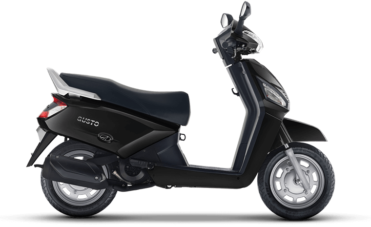 The Quality Scooter With Easy Riding By Mahindra Gusto