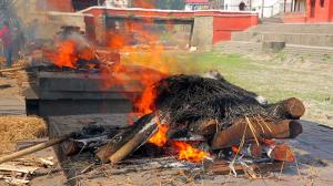 Cremation In Pashupatinath