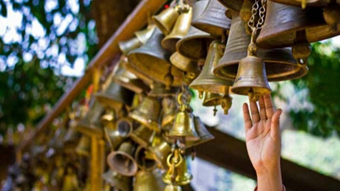 Ringing Temple Bell