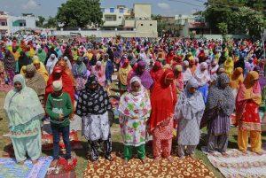 Women Prayer in Mosque